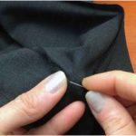 подшиваем брюки клейкой лентой