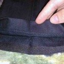 как подшить брюки потайным швом