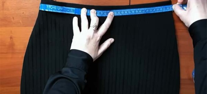 Как расширить юбку в талии и бедрах