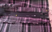 Как вшить молнию в брюки