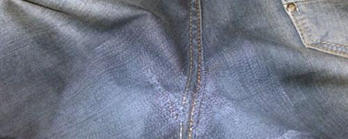 Как зашить штаны между ног – причины порчи брюк и методы ремонта