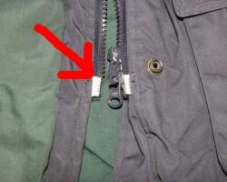 Мелкий ремонт одежды – замена молнии