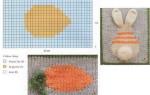 Вяжем детский плед: одеяло с зайчатами
