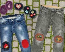 Реставрация джинсов – учимся зашивать красиво